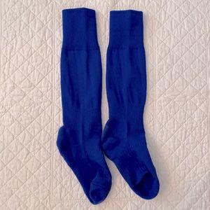 Royal Blue Soccer Socks
